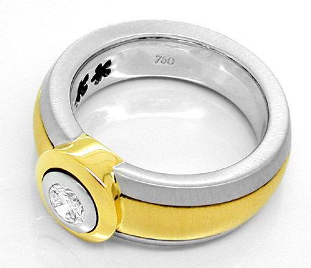 Foto 2, Neu! IGI-Brillant! in Super-Traum-Ring Luxus! Portofrei, S8629