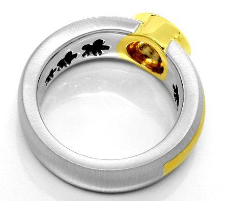 Foto 3, Neu! IGI-Brillant! in Super-Traum-Ring Luxus! Portofrei, S8629