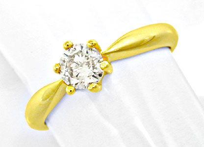 Foto 1, Neu! Solitär-Brillant-Ring, 0.50 Carat Luxus! Portofrei, S8658