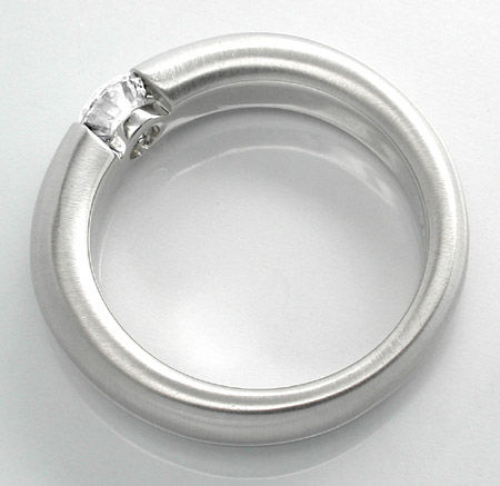 Foto 2 - Neu! Brillant Spann Ring, River VS 18K Luxus! Portofrei, S8680