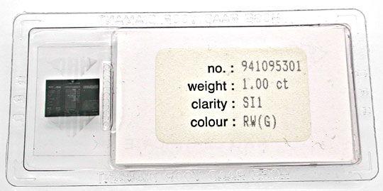 Foto 6, Traum-Kollier HRD-Brill.1ct 78G-18K-Bicolor Schmuck Neu, S8755