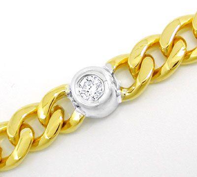 Foto 3, Brillant-Armband Safir Rubin Smaragd 18K/750 Luxus! Neu, S8775