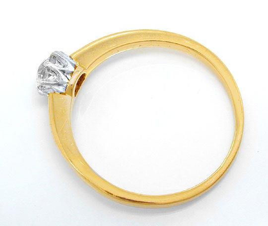 Foto 3, Antiker Diamant-Halbkaräter-Solitär-Ring, Luxus! Neuw.!, S8833