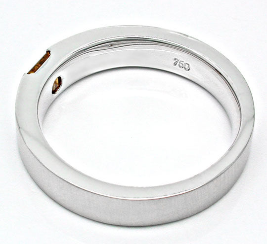 Foto 4, Neu! Diamant-Spann-Ring Traum-Farbe 18K Luxus Portofrei, S8862