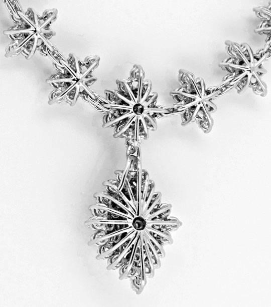 Foto 5, 20ct Diamantkollier Viele Trage Variationen Schmuck Neu, S8989