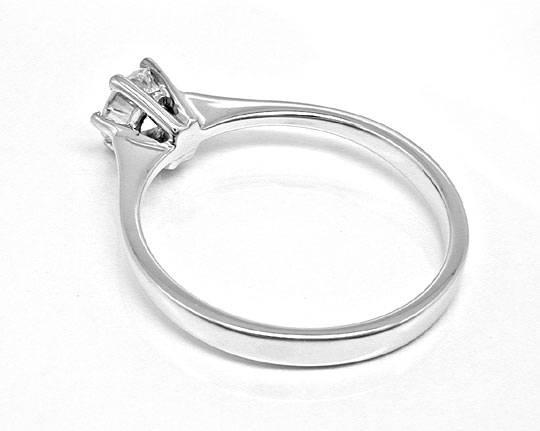 Foto 3, Spitzen Brillant Solitär Ring River! Wg 18K Luxus! Neu!, S8990