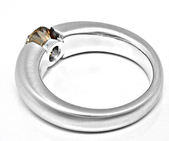 Foto 3, 1,56 Karäter IGI Brillant Spann Ring 18K Massiv Schmuck, S8998