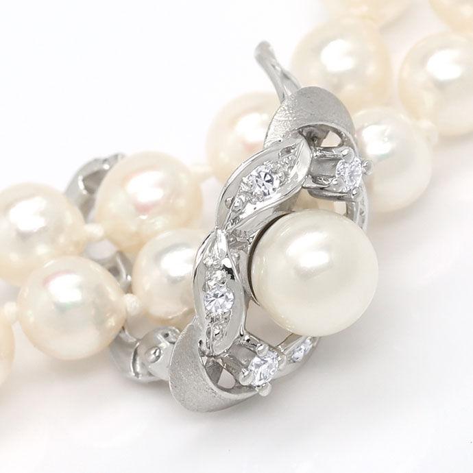 Perlenkette clip