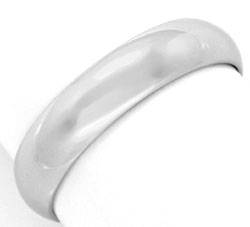 Foto 1, Original Cartier Platinring Alliance Pt 950 Gr61 Luxus!, S9240