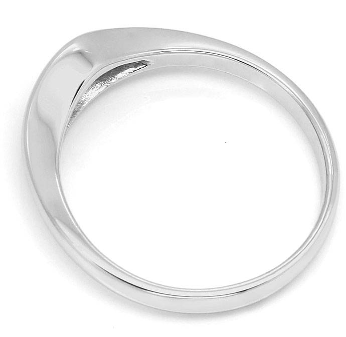Foto 3 - Diamantring mit 0,14ct River Lupenrein in 585 Weissgold, S9543
