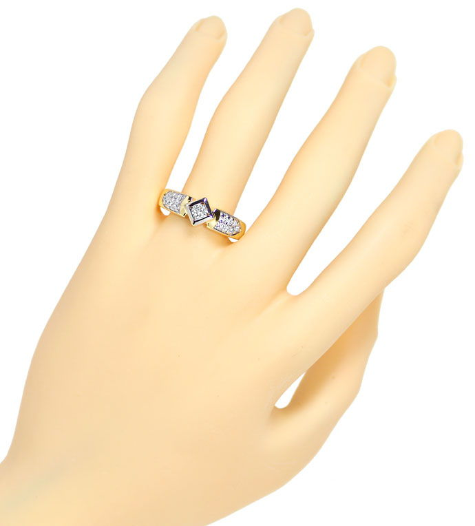 Foto 4 - Edler Diamantring mit 0,50ct Brillanten in 14K Gelbgold, S9852