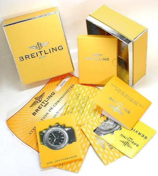 Foto 5, Breitling Montbrillant 1903 Navitimer Topuhr Ungetragen, U1001