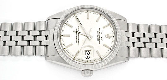 Foto 1, Rolex Datejust, Herren-Uhr, Automatik Edel-Stahl Topuhr, U1004