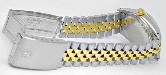 Foto 4, Hr Rolex Datejust Stahlgold Diamant-Zifferblatt, Topuhr, U1005