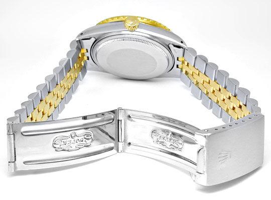 Foto 3, Rolex Datejust Turn-O-Graph! Stahlgold Automatik Topuhr, U1007