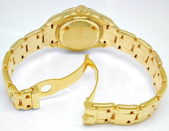 Foto 4, Rolex Lady-Datejust Pearlmaster Diamanten Geprüft Neuz., U1009