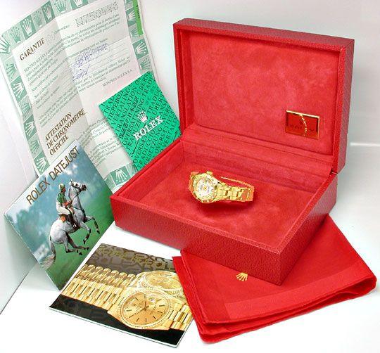 Foto 5, Rolex Lady-Datejust Pearlmaster Diamanten Geprüft Neuz., U1009