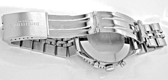Foto 3, Breitling Old Navitimer Stahlband Traumzustand!! Topuhr, U1011