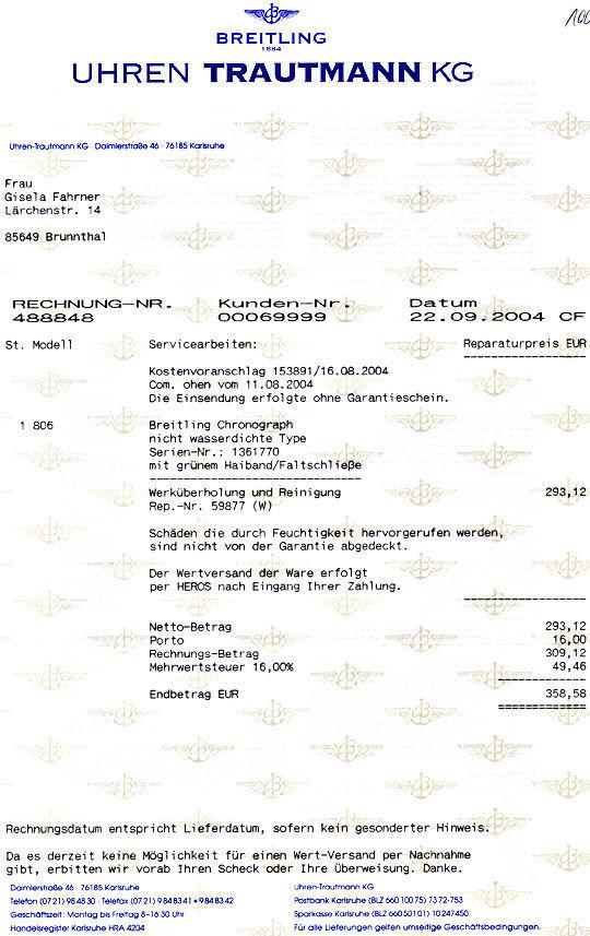 Foto 9, Breitling Old Navitimer Stahlband Traumzustand!! Topuhr, U1011