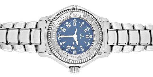 Foto 1, Ebel Discovery Damen-Armbanduhr Edelstahl Topuhr Neuz.!, U1012