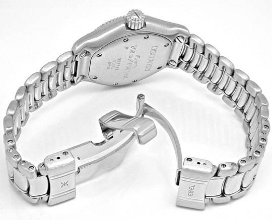 Foto 4, Ebel Discovery Damen-Armbanduhr Edelstahl Topuhr Neuz.!, U1012
