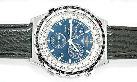 Foto 1, Breitling Jupiter Pilot Navitimer Chronograph Q. Topuhr, U1013