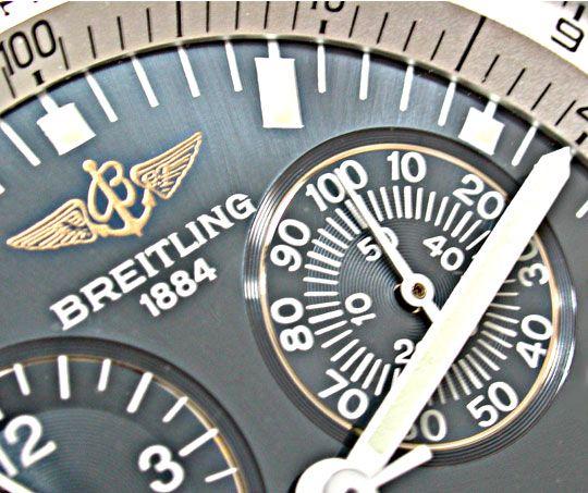 Foto 3, Breitling Jupiter Pilot Navitimer Chronograph Q. Topuhr, U1013