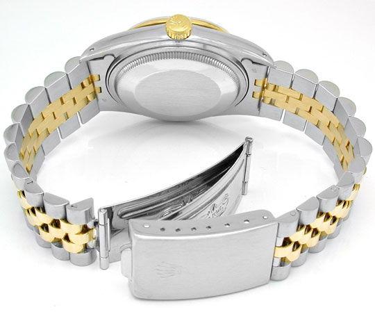 Foto 4, Rolex Datejust Hr Stahlgold Chronometer Topuhr Neuzust., U1015