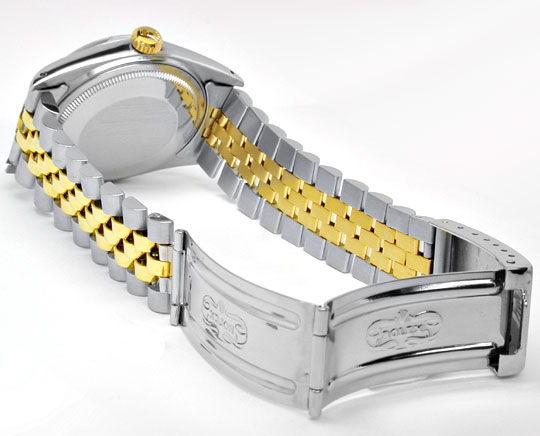Foto 4, Rolex Datejust Jubilee Herr Stahl-Gold Automatik Topuhr, U1017