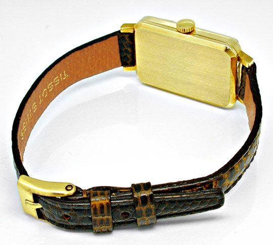 Foto 4, Tissot, Damen-Armbanduhr, 14K-Gelbgold Shop Ungetragen!, U1019