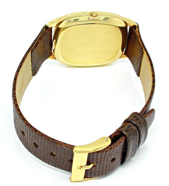 Foto 3, Tissot Herren-Armbanduhr 14K-Gelbgold Topuhr Ungetragen, U1020