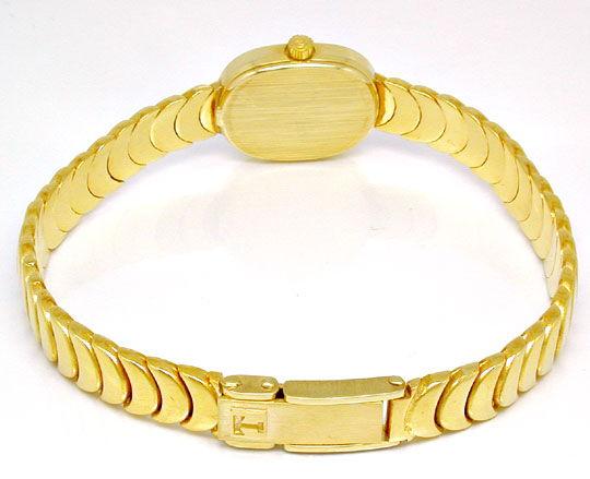Foto 4, Tissot Damen-Armbanduhr 14K-Gelbgold Topuhr Ungetragen!, U1022