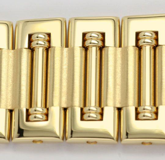 Foto 4, Piaget Dancer Herren-Armband-Uhr, 18K Gelb-Gold Geprüft, U1033