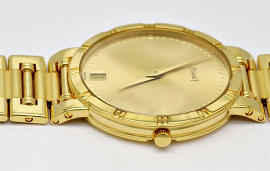 Foto 5, Piaget Dancer Herren-Armband-Uhr, 18K Gelb-Gold Geprüft, U1033
