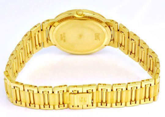 Foto 6, Piaget Dancer Herren-Armband-Uhr, 18K Gelb-Gold Geprüft, U1033