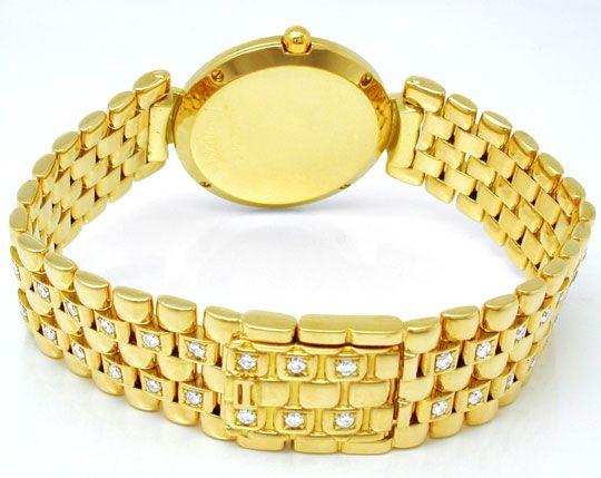 Foto 4, Bucherer Boheme Damenuhr Gold Brillanten Geprüft Neuz.!, U1034