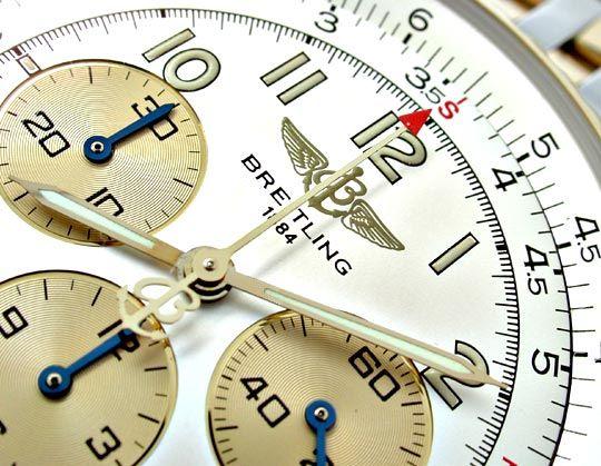 Foto 3, Breitling Navitimer Automatik Stahlgoldband Topuhr Neuz, U1039