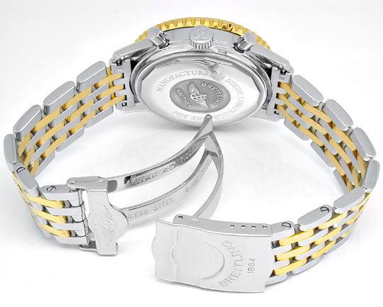 Foto 4, Breitling Navitimer Automatik Stahlgoldband Topuhr Neuz, U1039