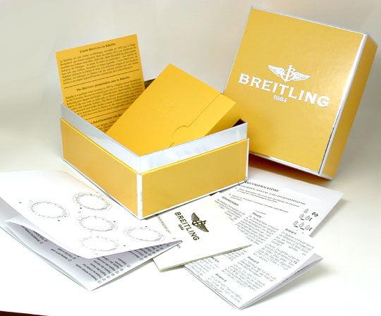 Foto 6, Breitling Navitimer Automatik Stahlgoldband Topuhr Neuz, U1039