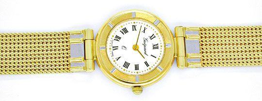 Foto 1, Guepard Damen-Armbanduhr massiv Gold Topuhr Ungetragen!, U1041