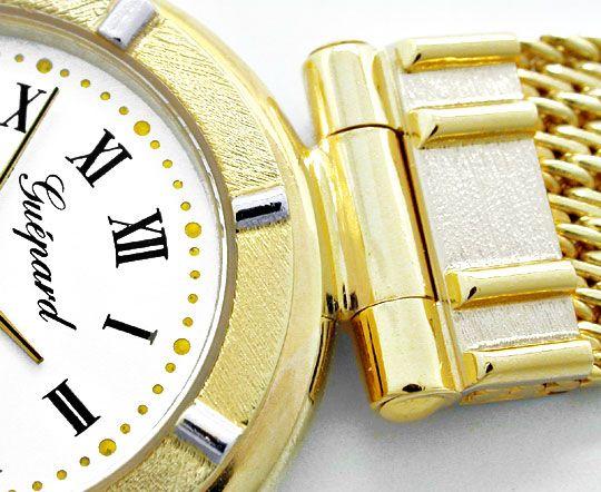 Foto 3, Guepard Damen-Armbanduhr massiv Gold Topuhr Ungetragen!, U1041