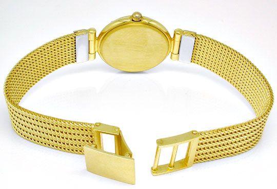 Foto 4, Guepard Damen-Armbanduhr massiv Gold Topuhr Ungetragen!, U1041