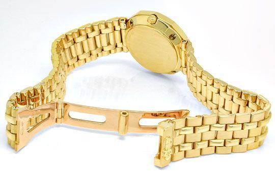 Foto 4, Corum, Admirals Cup Damen Gold Diamanten Geprüft Neuz.!, U1054