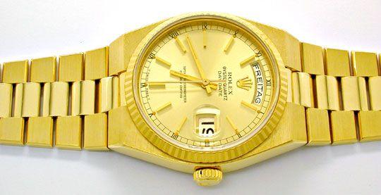 Foto 1, Rolex Day Date, Quarz Chronometer Geprüft F.Neuzustand!, U1058