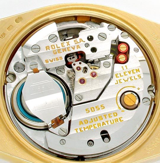Foto 6, Rolex Day Date, Quarz Chronometer Geprüft F.Neuzustand!, U1058