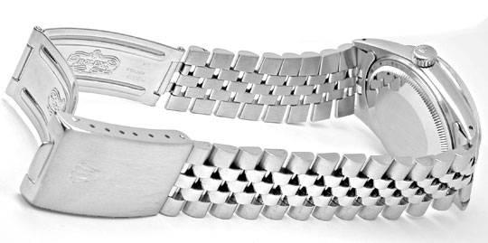 Foto 4, Rolex Datejust Herren Armbanduhr Stahl Automatik Topuhr, U1059
