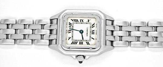 Foto 1, Cartier Panthere Damen Uhr Edelstahl Topuhr Neuzustand!, U1060
