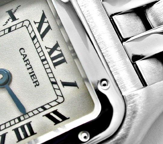 Foto 3, Cartier Panthere Damen Uhr Edelstahl Topuhr Neuzustand!, U1060