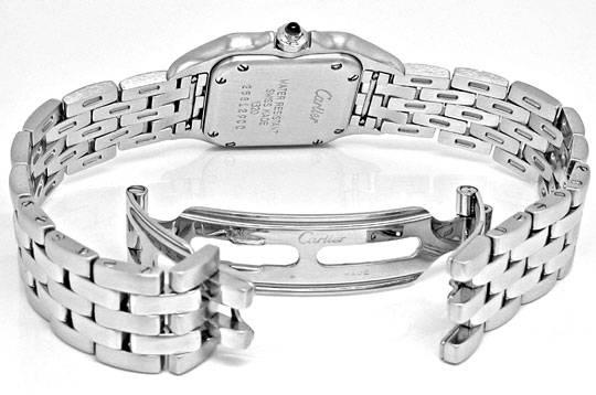 Foto 4, Cartier Panthere Damen Uhr Edelstahl Topuhr Neuzustand!, U1060
