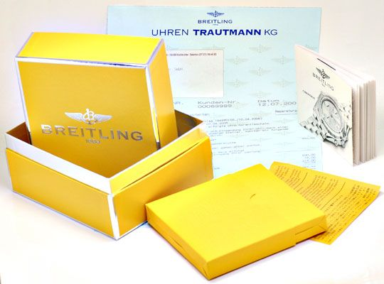 Foto 8, Breitling Chronomat Windrider Gelbgold Herrenarmbanduhr, U1064